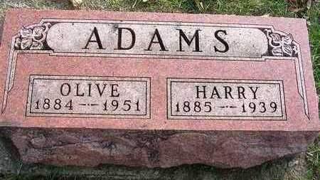 ADAMS, HARRY EARL - Madison County, Iowa | HARRY EARL ADAMS