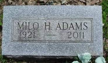 ADAMS, MILO HARVEY - Madison County, Iowa | MILO HARVEY ADAMS