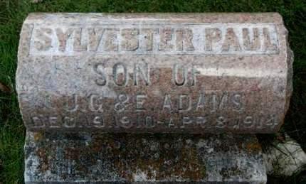 ADAMS, SYLVESTER PAUL - Madison County, Iowa | SYLVESTER PAUL ADAMS