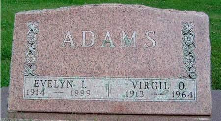 ADAMS, VIRGIL ORRIS - Madison County, Iowa   VIRGIL ORRIS ADAMS
