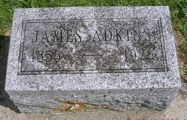 ADKINS, JAMES HENRY - Madison County, Iowa   JAMES HENRY ADKINS