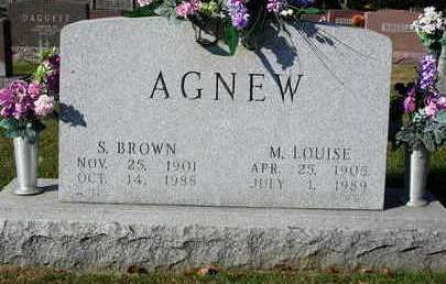 AGNEW, MARY LOUISE - Madison County, Iowa | MARY LOUISE AGNEW