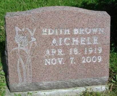 AICHELE, EDITH MABEL - Madison County, Iowa | EDITH MABEL AICHELE