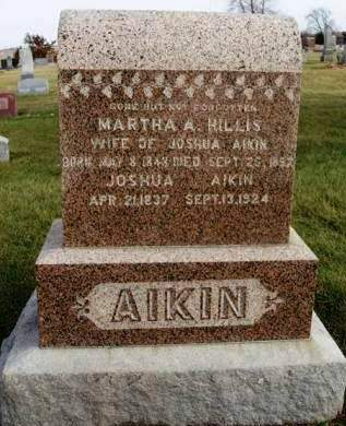 AIKIN, MARTHA A - Madison County, Iowa | MARTHA A AIKIN