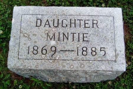 AKIN, MINTA F. (MINNIE)  - Madison County, Iowa | MINTA F. (MINNIE)  AKIN