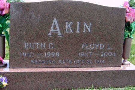 WETER AKIN, RUTH DARLENE - Madison County, Iowa | RUTH DARLENE WETER AKIN