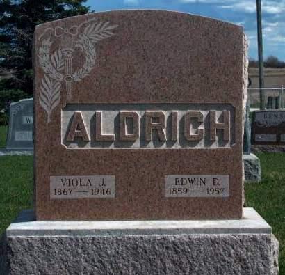 ALDRICH, EDWIN DALLAS - Madison County, Iowa | EDWIN DALLAS ALDRICH