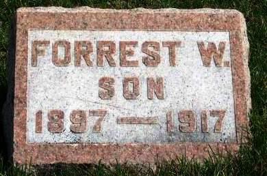 ALDRICH, FORREST W. - Madison County, Iowa   FORREST W. ALDRICH