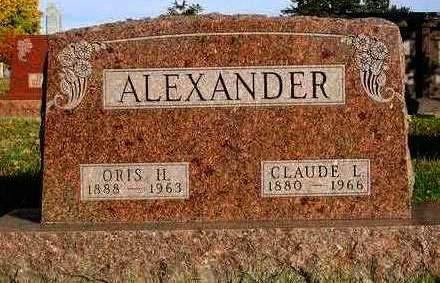 ALEXANDER, CLAUDE LEE - Madison County, Iowa | CLAUDE LEE ALEXANDER