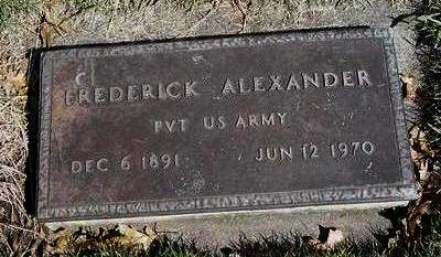 ALEXANDER, FREDERICK - Madison County, Iowa   FREDERICK ALEXANDER