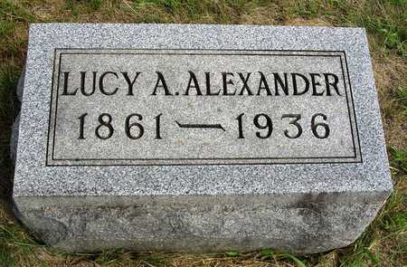 WALKER ALEXANDER, LUCY ANN - Madison County, Iowa | LUCY ANN WALKER ALEXANDER