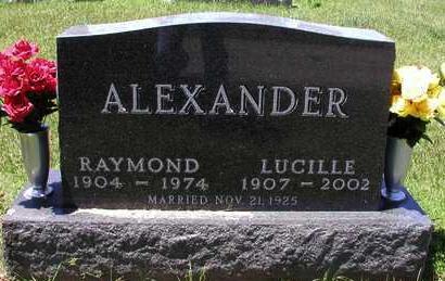 ALEXANDER, LUCILLE V. - Madison County, Iowa | LUCILLE V. ALEXANDER