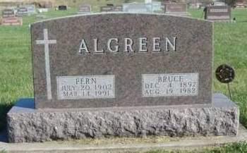 ALGREEN, BRUCE T. - Madison County, Iowa   BRUCE T. ALGREEN