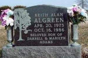 ALGREEN, KEITH ALAN - Madison County, Iowa | KEITH ALAN ALGREEN