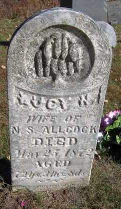 ALLCOCK, LUCY HENRY - Madison County, Iowa | LUCY HENRY ALLCOCK