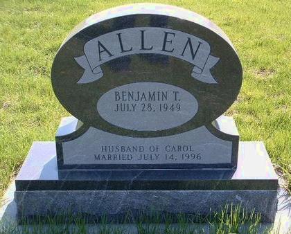 ALLEN, BENJAMIN T. - Madison County, Iowa   BENJAMIN T. ALLEN