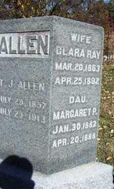 RAY ALLEN, CLARISSA IRENE (CLARA) - Madison County, Iowa | CLARISSA IRENE (CLARA) RAY ALLEN