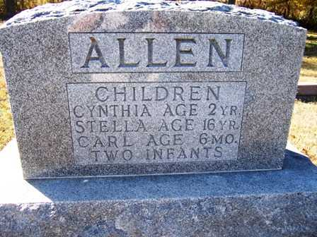 ALLEN, INFANT - Madison County, Iowa | INFANT ALLEN