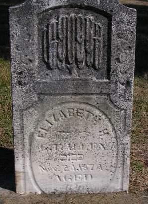 ALLEN, ELIZABETH H. - Madison County, Iowa | ELIZABETH H. ALLEN