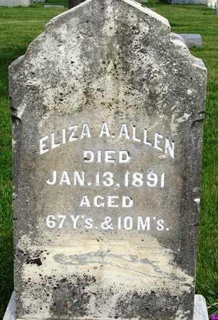 ALLEN, ELIZA A. - Madison County, Iowa | ELIZA A. ALLEN