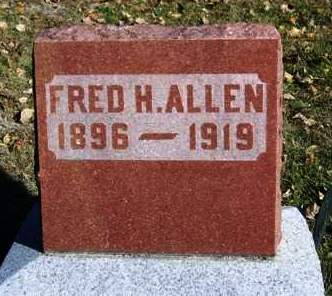 ALLEN, FRED HULL - Madison County, Iowa | FRED HULL ALLEN