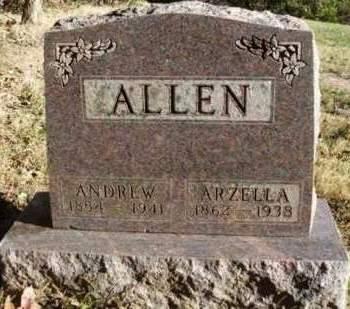 ALLEN, FLORENCE ARZELLA - Madison County, Iowa   FLORENCE ARZELLA ALLEN