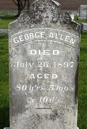 ALLEN, GEORGE - Madison County, Iowa   GEORGE ALLEN