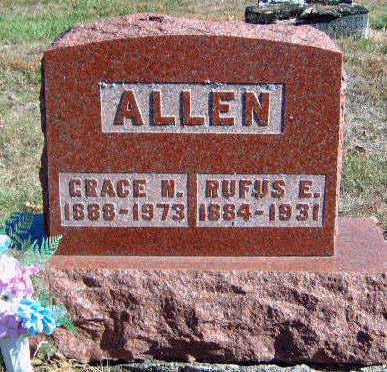 ALLEN, RUFUS EDGBURT - Madison County, Iowa | RUFUS EDGBURT ALLEN