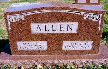 ALLEN, JOHN C. - Madison County, Iowa | JOHN C. ALLEN