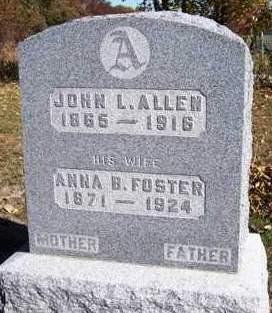 ALLEN, ANNA BELL - Madison County, Iowa | ANNA BELL ALLEN
