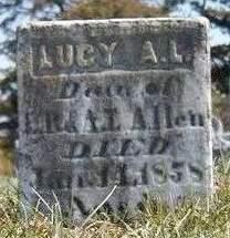 ALLEN, LUCY A. L. - Madison County, Iowa | LUCY A. L. ALLEN
