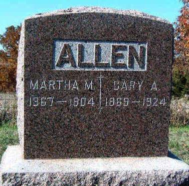 ALLEN, CARY A. - Madison County, Iowa | CARY A. ALLEN