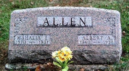ALLEN, MAHALIA ISABELLE - Madison County, Iowa | MAHALIA ISABELLE ALLEN