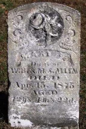 ALLEN, MARY FRANCES - Madison County, Iowa | MARY FRANCES ALLEN