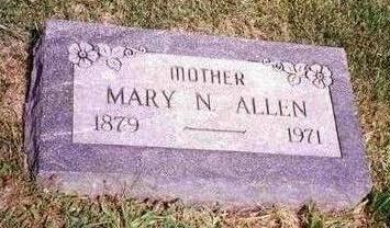 ALLEN, MARY N. - Madison County, Iowa   MARY N. ALLEN