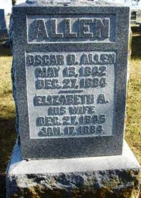 ALLEN, ELIZABETH ANN - Madison County, Iowa | ELIZABETH ANN ALLEN