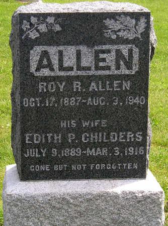 ALLEN, EDITH PEARL - Madison County, Iowa | EDITH PEARL ALLEN
