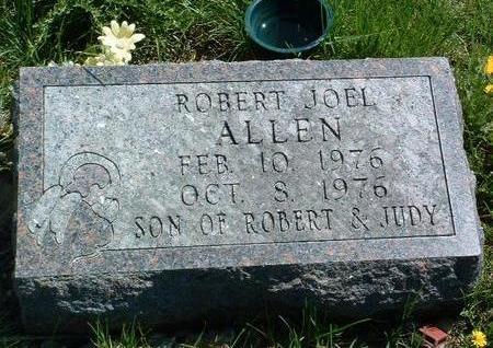 ALLEN, ROBERT JOEL - Madison County, Iowa | ROBERT JOEL ALLEN