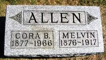 ALLEN, MELVIN - Madison County, Iowa | MELVIN ALLEN