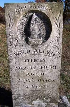 ALLEN, WILLIAM BURNS - Madison County, Iowa | WILLIAM BURNS ALLEN