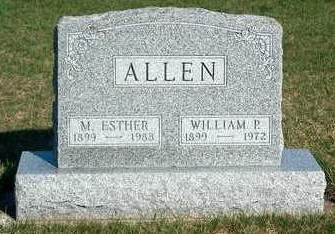 ALLEN, MARGARET ESTHER - Madison County, Iowa | MARGARET ESTHER ALLEN