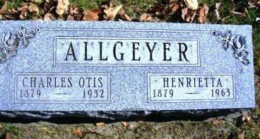 ALLGEYER, HENRIETTA - Madison County, Iowa | HENRIETTA ALLGEYER