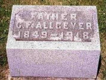 ALLGEYER, CHARLES F. - Madison County, Iowa | CHARLES F. ALLGEYER
