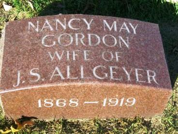 ALLGEYER, NANCY MAY - Madison County, Iowa | NANCY MAY ALLGEYER
