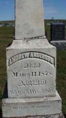 ANDERSON, ANDREW L. - Madison County, Iowa | ANDREW L. ANDERSON