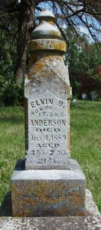 ANDERSON, ELVIN B. - Madison County, Iowa | ELVIN B. ANDERSON
