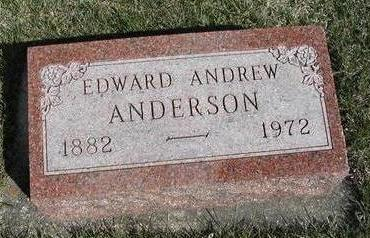 ANDERSON, EDWARD ANDREW - Madison County, Iowa | EDWARD ANDREW ANDERSON