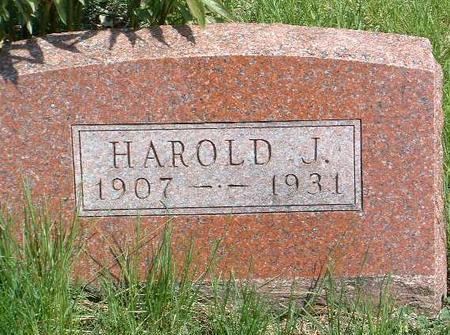 ANDERSON, HAROLD J. - Madison County, Iowa | HAROLD J. ANDERSON