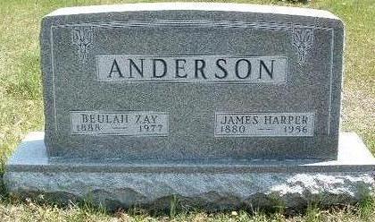 ANDERSON, BEULAH ZAY - Madison County, Iowa | BEULAH ZAY ANDERSON