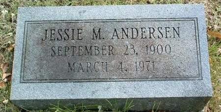 ANDERSEN, JESSIE MAE - Madison County, Iowa | JESSIE MAE ANDERSEN